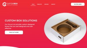 Custom boxes solutions