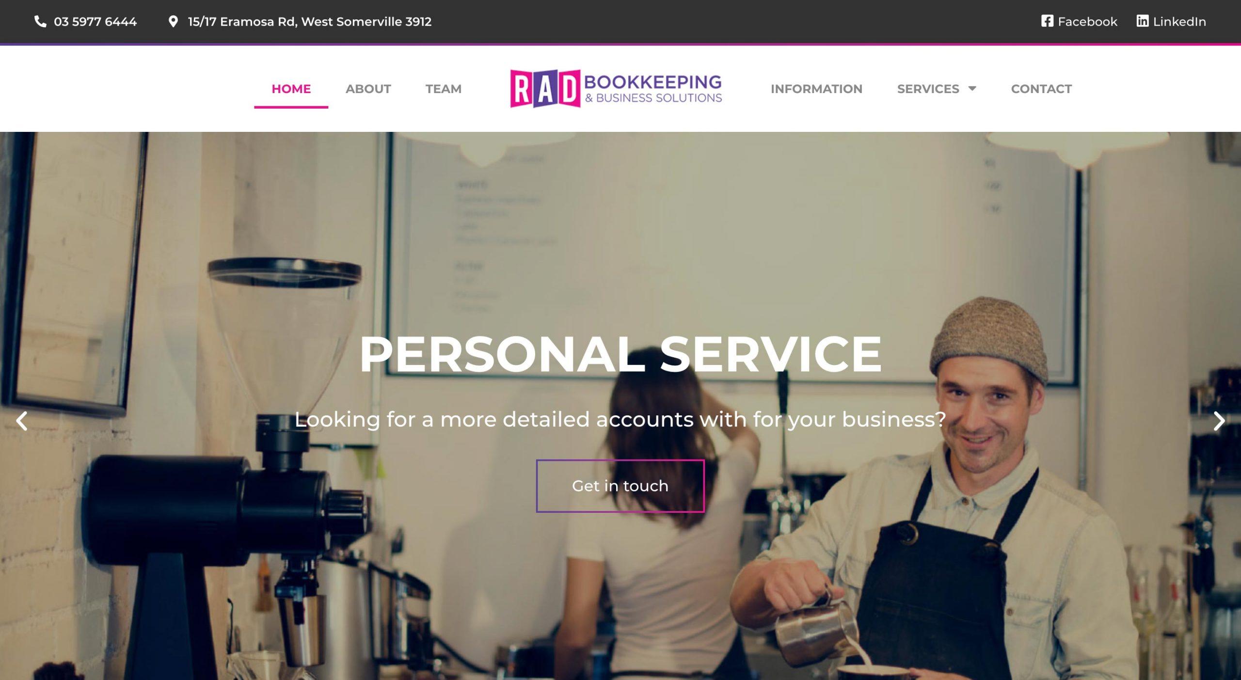 RAD Bookkeeping